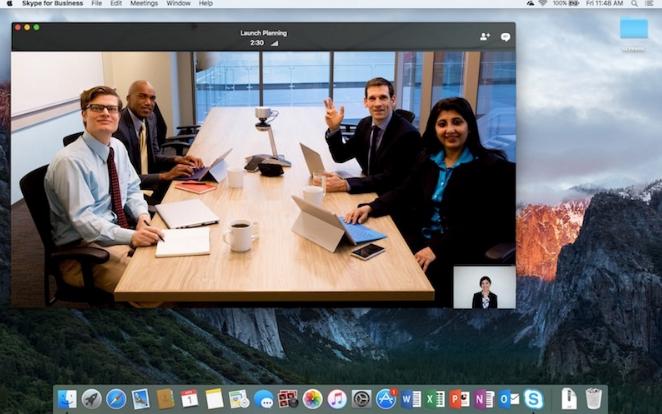 Multiple screens on Skype