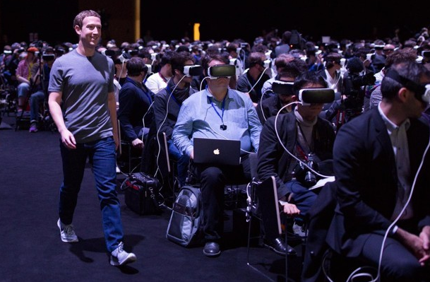 Facebook with VR