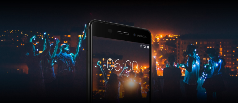 Nokia 6 Smartphone operating system