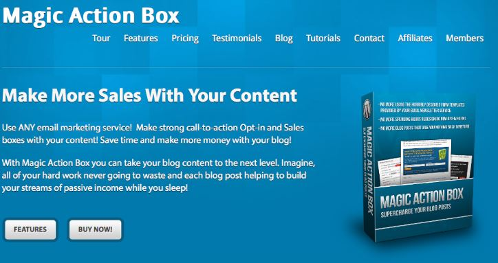 Magic Action Box Pro WordPress Plugin