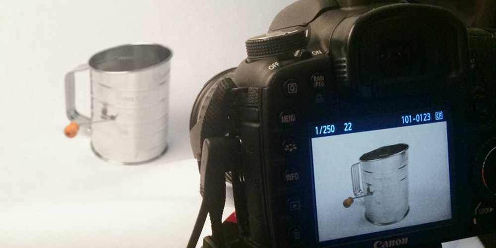 Ineffective product photography