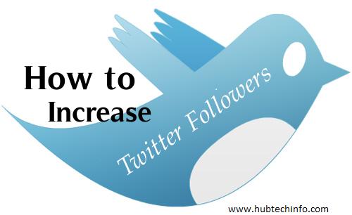 increase followers on Twitter