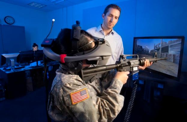 VR for Battlefield Simulation