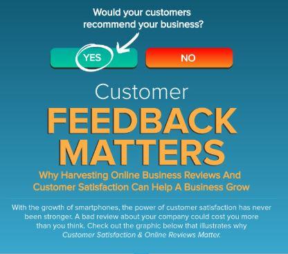 power of customer feedback