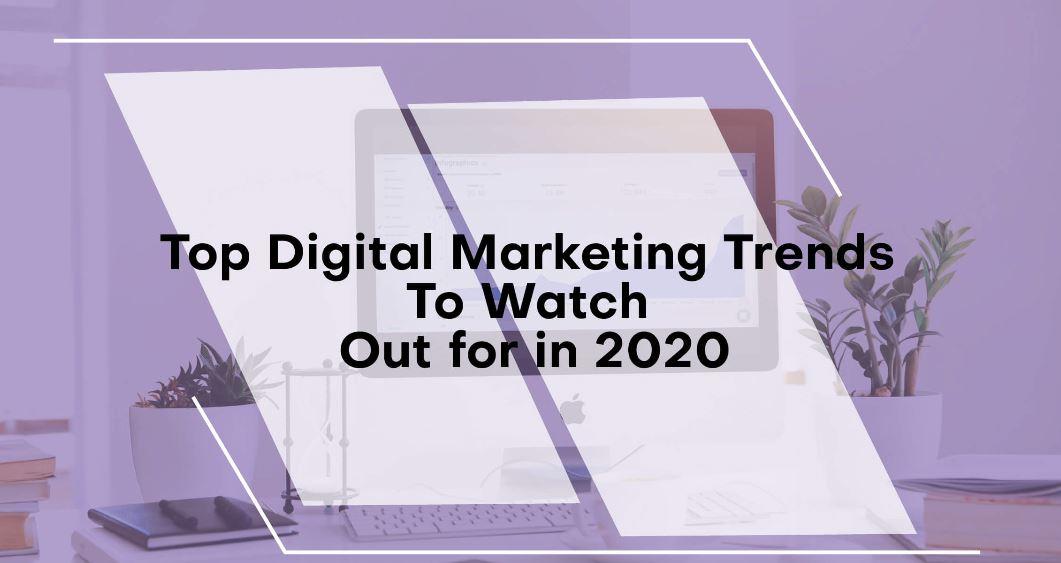 top digital marketing trends