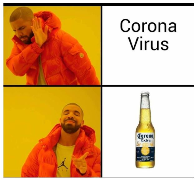 Corona Beer Covid Memes