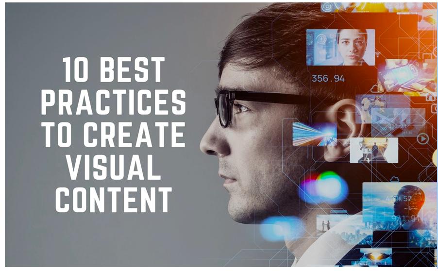 create visual content